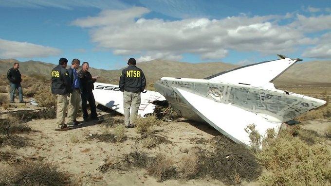 Пилот SpaceShipTwo рассказал о крушении. Изображение № 1.