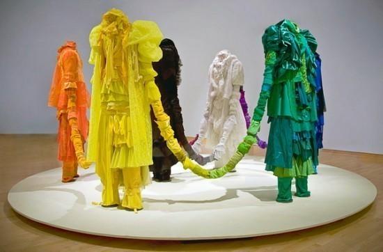 Изображение 19. Recycling Clothing Art.. Изображение № 19.