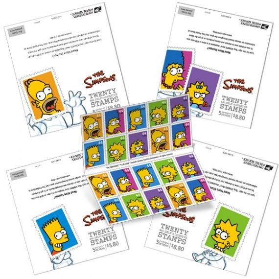 USPostal Service xMatt Groening. Изображение № 3.
