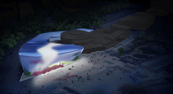 Новое здание музея «Золотой дракон» построят по Фэн Шуй. Изображение № 2.