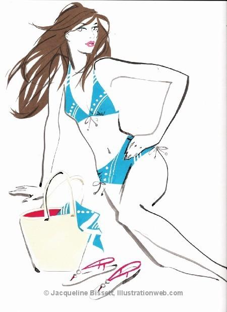 Иллюстратор Жаклин Биссет. Изображение № 27.