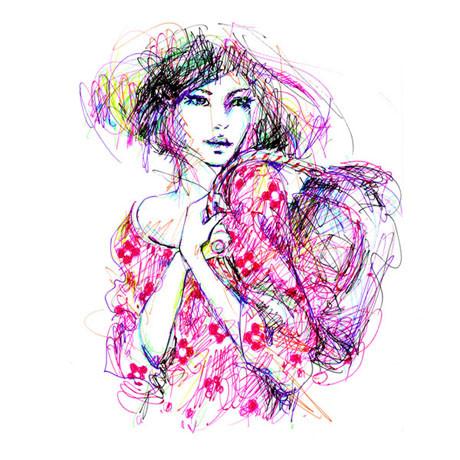 Иллюстрации Antoinette-Fleur. Изображение № 21.