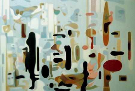 Точка, точка, запятая: 10 современных абстракционистов. Изображение № 80.