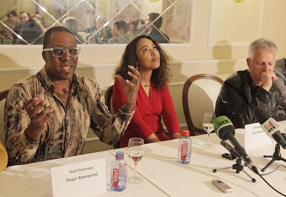 """Пресс-конференция группы """"De Phazz"""" в Москве. Изображение № 7."""