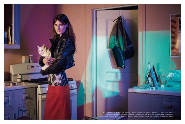 Стоп-кадр: Новые съемки Love, Russh, Vogue и V. Изображение № 59.