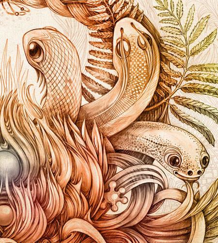 Красивые иллюстрации Ирины Винник. Изображение № 8.