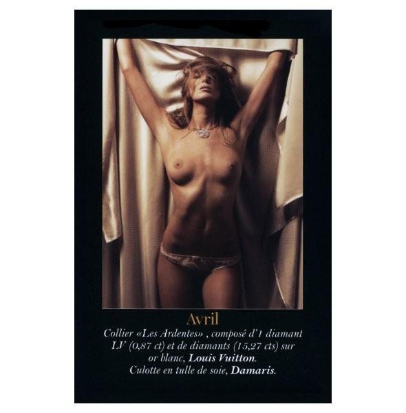 Полная версия календаря французского Vogue на 2011 год. Изображение № 4.