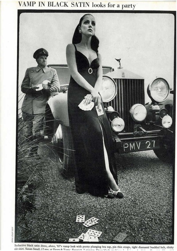 DONNA MITCHELL: Vogue UK, October 1967. Изображение № 8.