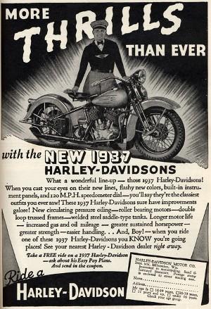 Harley Davidson: реклама легенды. Изображение № 2.
