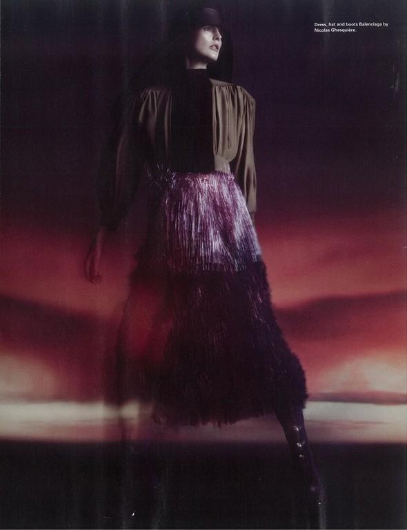 Съёмка: Стелла Теннант для i-D. Изображение № 7.