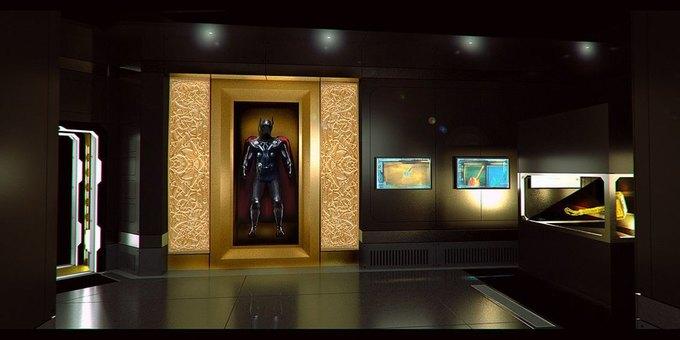 Опубликованы концепт-арты выставки по вселенной «Мстителей» . Изображение № 4.