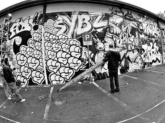 PBK9, художественная выставка в Лозанне, Швейцария. Изображение № 50.