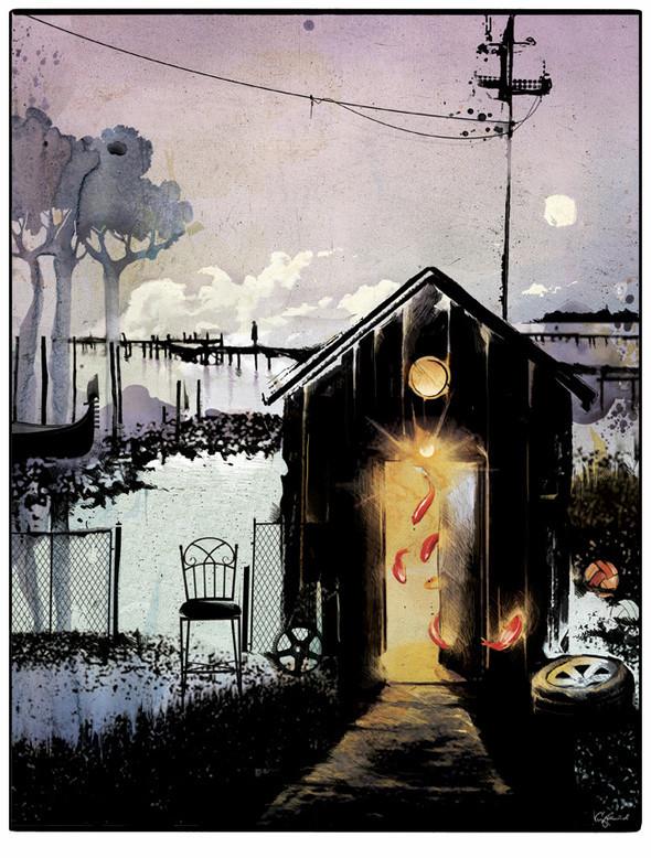 Иллюстрации для журнала и сайта «Сноб». Изображение № 6.