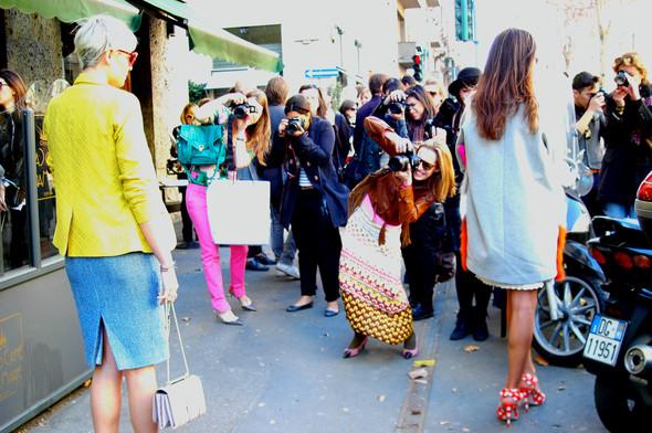 Milan Fashion Week. За кадром. Изображение № 16.