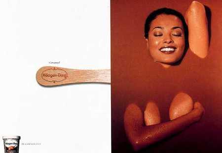 Леденящая воображение реклама мороженого. Изображение № 34.