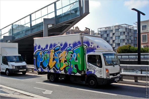 Стрит-арт и граффити Барселоны, Испания. Изображение № 3.
