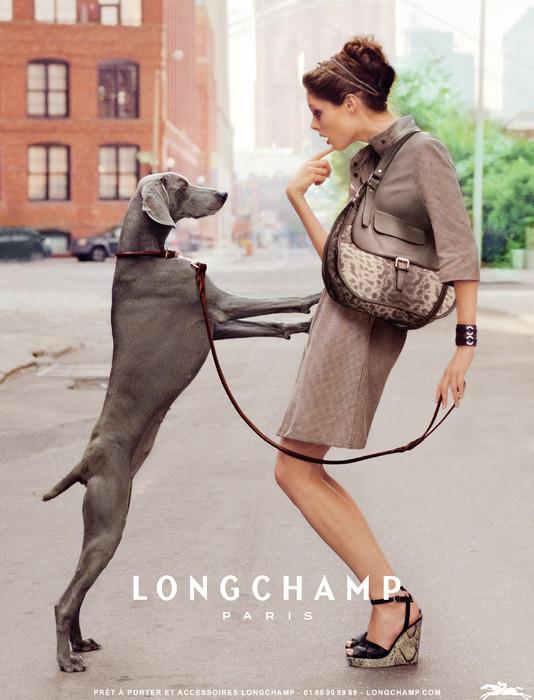 Превью кампании: Коко Роша для Longchamp SS 2012. Изображение № 1.