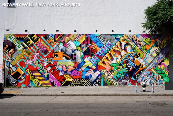 Историю граффити на одной стене восстановили с помощью Google Street View . Изображение № 3.