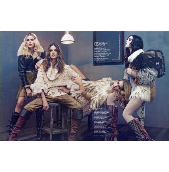 5 новых съемок: Interview, Marie Claire и Vogue. Изображение № 34.