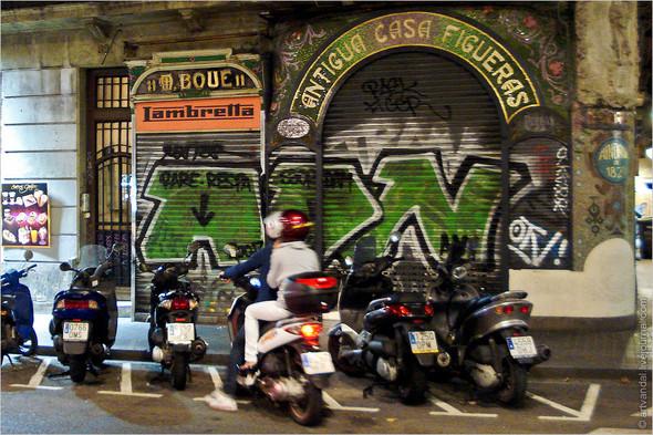Стрит-арт и граффити Барселоны, Испания. Изображение № 21.