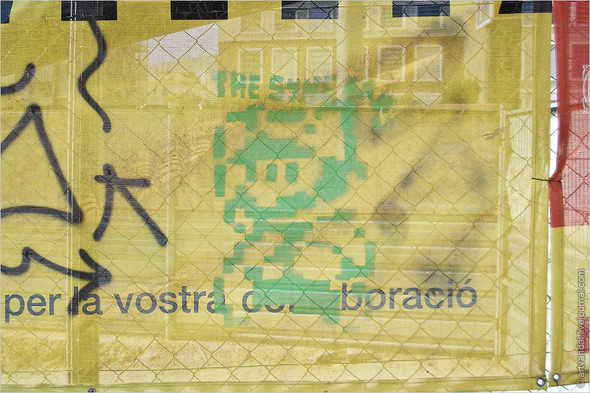 Стрит-арт и граффити Барселоны, Испания. Изображение № 33.