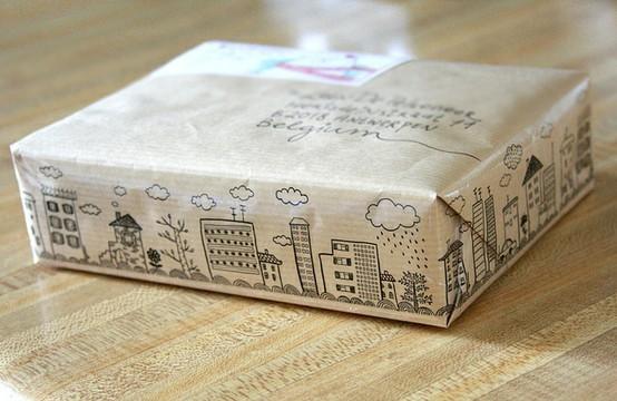 55 идей для упаковки новогодних подарков. Изображение № 135.