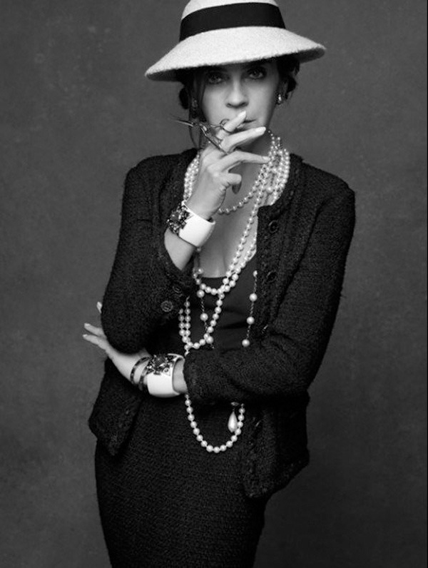 20 октября в Artplay откроется фотовыставка Chanel «Little Black Jacket». Изображение № 11.