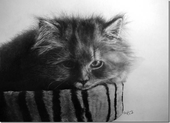 Рисунки простым карандашом от Paul Lung. Изображение № 4.