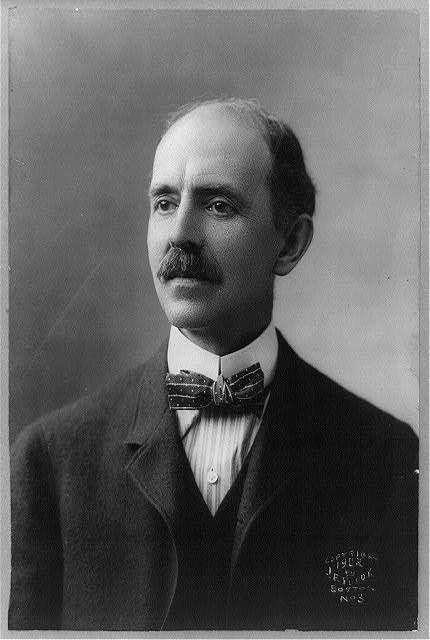 Daniel Chester French (1850–1931) - известный американский скульптор, создатель памятника Линкольну в Вашингтоне.. Изображение №1.