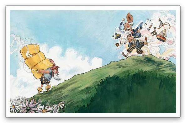 Watercolor humour. Изображение № 9.