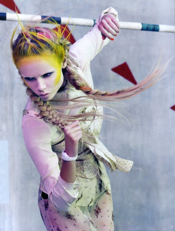 Vogue Italia March 2010 Glam and Sporty. Изображение № 4.
