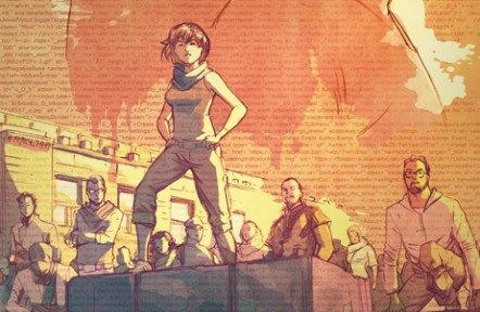 Комикс Hacktivist расскажет историю группы Anonymous. Изображение № 1.