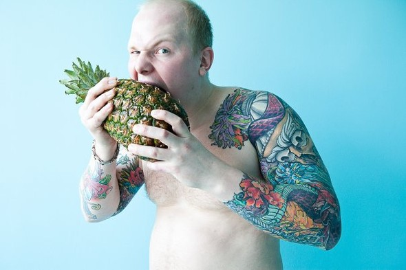 Самые аппетитные татуировки в Москве. Изображение № 10.