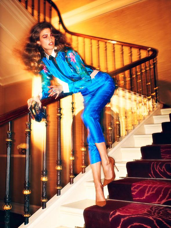Съёмка: Кендра Спирс для российского Vogue. Изображение № 5.