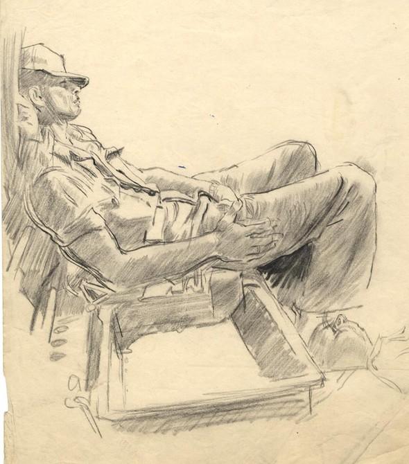 Американские иллюстраторы 40–60гг. ЧАСТЬ 1. Изображение № 48.