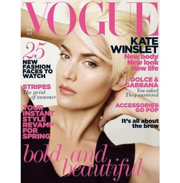 Изображение 4. Обложки Vogue: Франция, Британия и другие.. Изображение № 2.