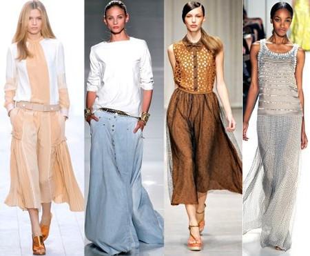 Модные юбки весна-лето 2012. Изображение № 4.