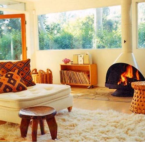 Настоящий огонь у вас дома. 12 вариантов каминов в жилых помещениях. Изображение № 2.