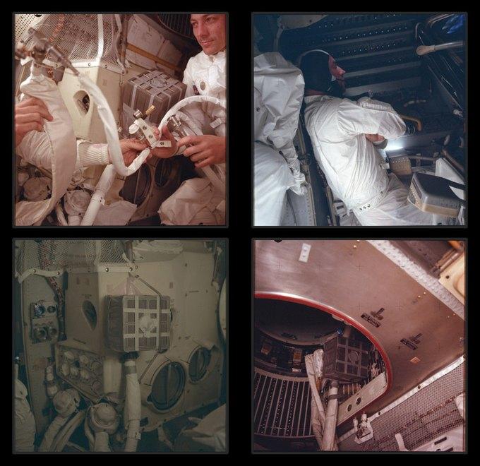 NASA выложили онлайн фотоисторию миссии «Аполло». Изображение № 4.