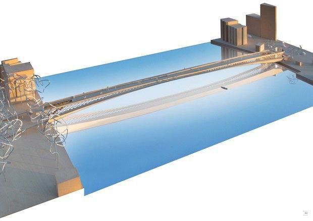 Выложены 74 проекта нового моста через Темзу. Изображение № 66.