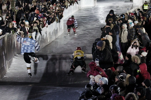 Изображение 8. Финляндия взяла реванш в Москве 26 февраля (Red Bull Crashed Ice 2011).. Изображение № 8.