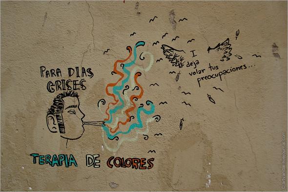 Стрит-арт и граффити Барселоны, Испания. Изображение № 26.