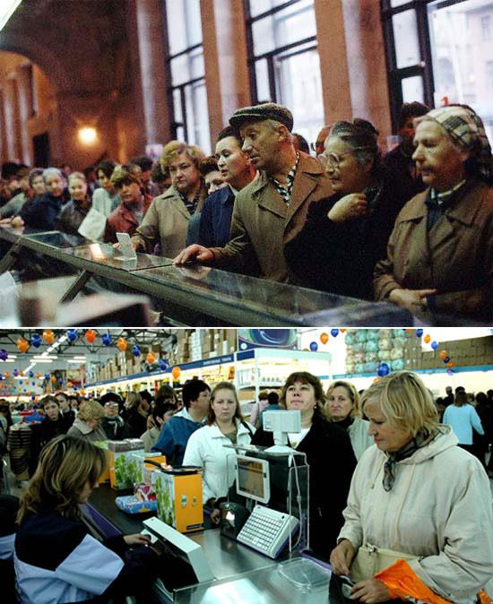 Как изменились прилавки магазинов за 20 лет. Изображение № 18.