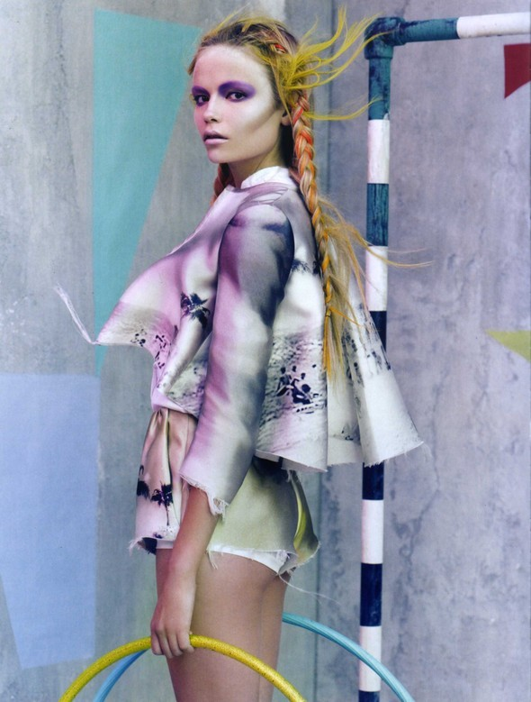 Vogue Italia March 2010 Glam and Sporty. Изображение № 12.