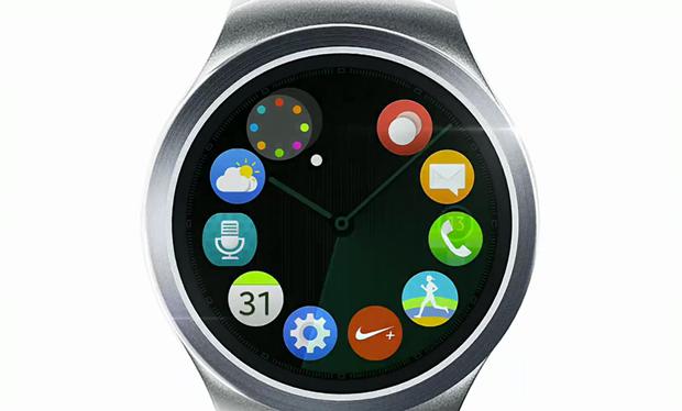 Samsung показала круглые часы Gear S2. Изображение № 1.
