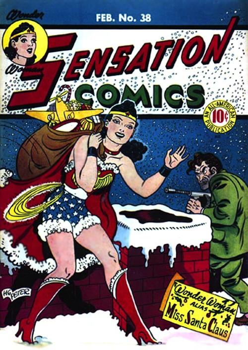 20 новогодних обложек комиксов. Изображение № 19.