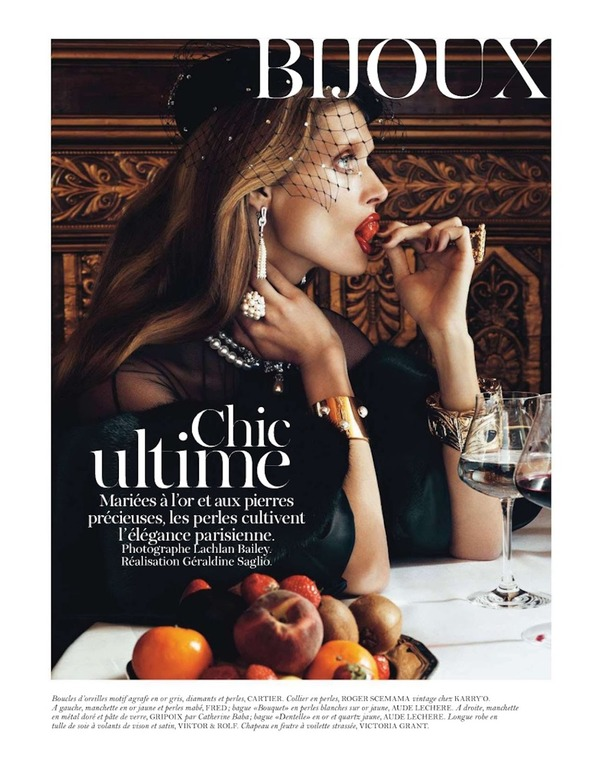 Съемки: Numero, Vogue, W и другие. Изображение №60.