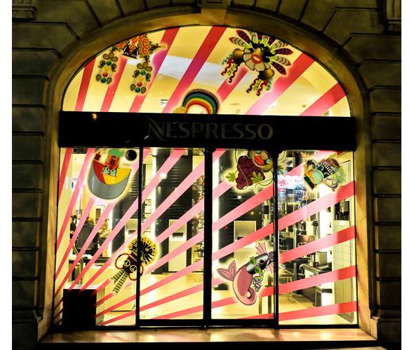 Три витрины магазинов, которые оформили современные художники и дизайнеры. Изображение № 4.