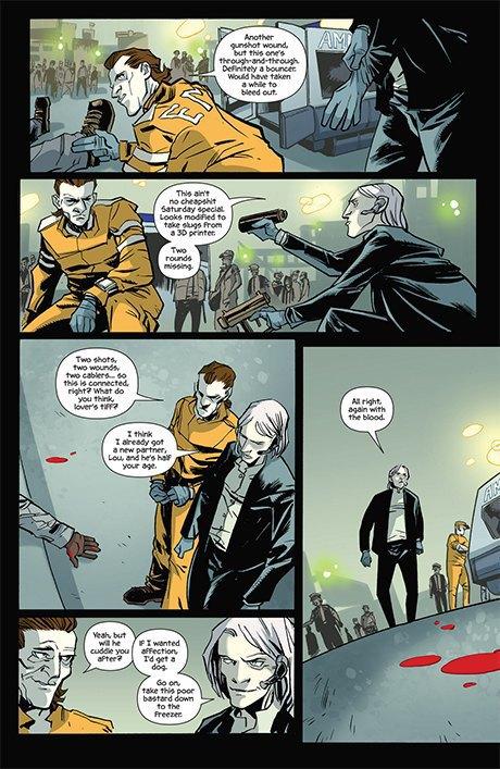 Автор комикса The Fuse об отношении иностранцев к России и женщинах-полицейских. Изображение № 14.
