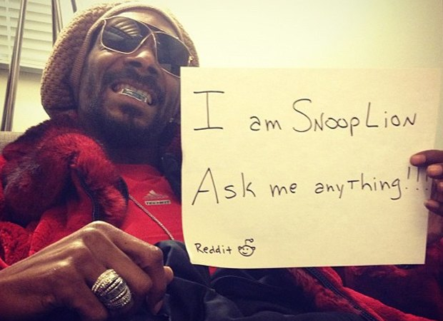 Снуп Лайон станет модератором потока о марихуане на reddit. Изображение № 1.
